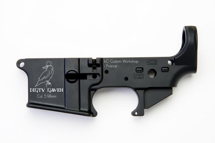 Corps-AR15-Lower-essai dirty 2