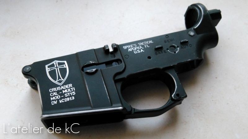 Spike's tactical ST15 « Crusader », WE Katana – l'atelier de kC