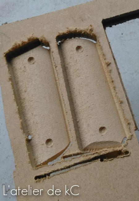 plaquettes 1911 CNC
