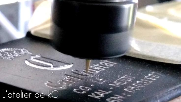 M4 GHK Carl Gustaf-detail gravure