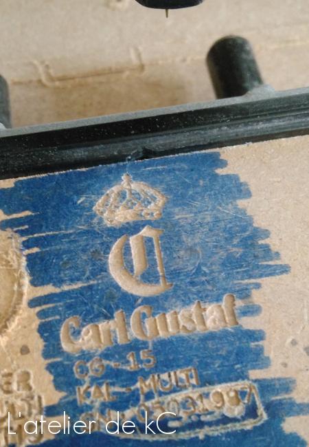 test gravure Carl Gustaf