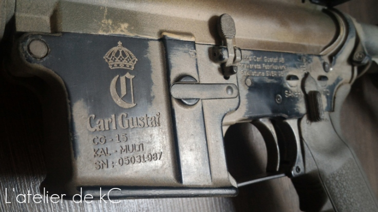 M4 GHK Carl Gustaf-peinture1