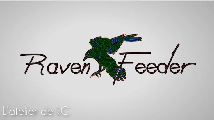 Raven feeder artwork