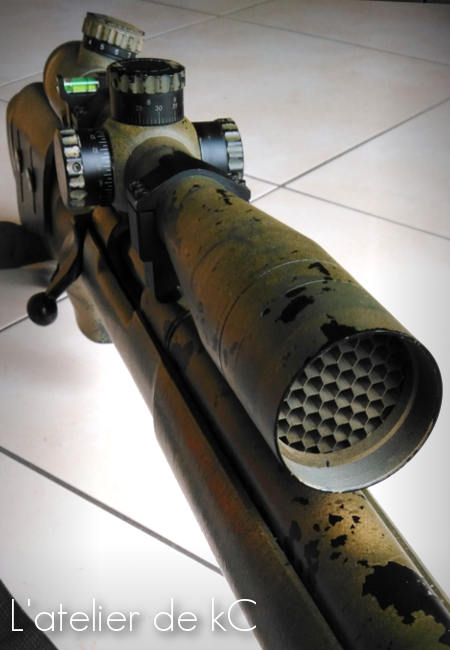 m24 scope honeycomb and level