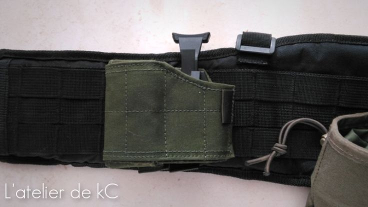 Warrior Assault Universal Holster-first line belt