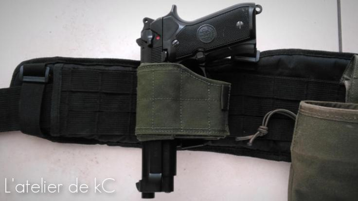 Warrior Assault Universal Holster-m9-92fs
