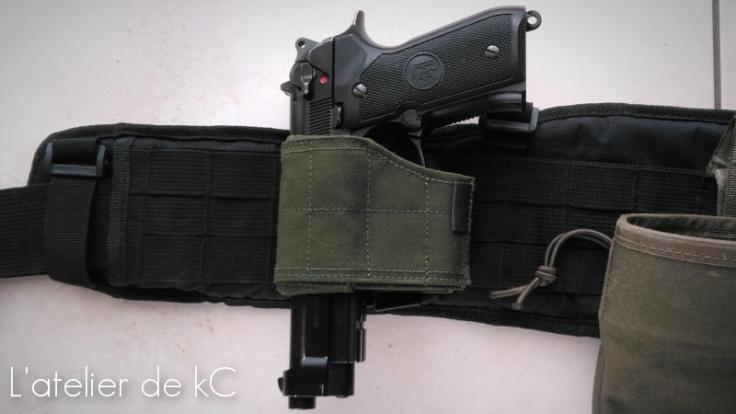 Warrior Assault Universal Holster-m9a1