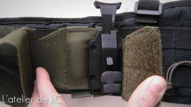 Warrior Assault Universal Holster retention system