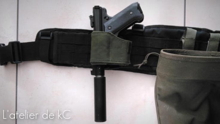 Warrior Assault Universal Holster-ruger mk1