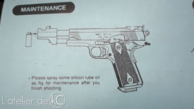 KWC spring airsoft gun manual