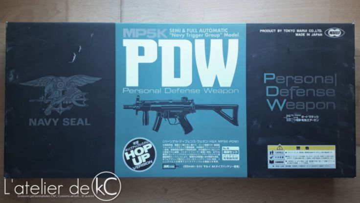 Marui MP5K PDW box