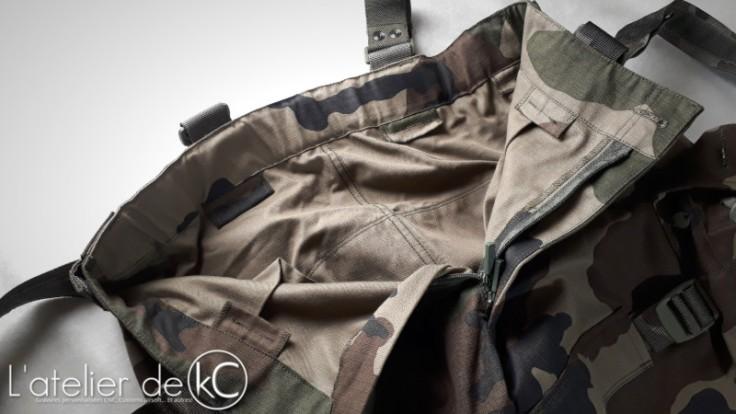Pantalon Treillis Francais CE T4S2 Felin ceinture-1