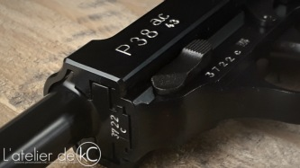 WE Walther P38 gbb engraved AC43-3