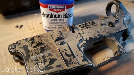 airsoft A&K ptw custom engraving-birchwood casey1