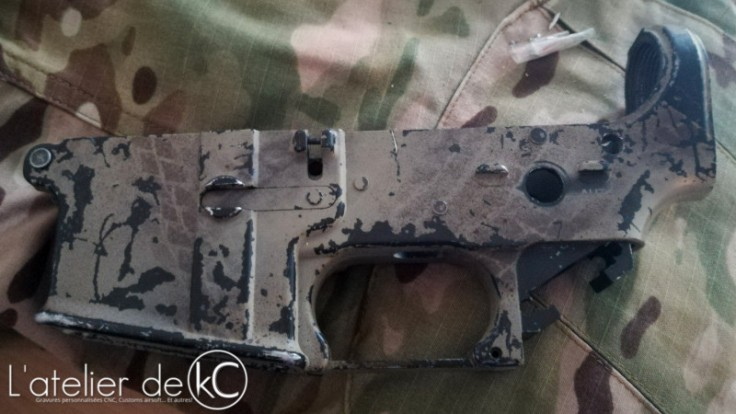 A&K PTW M4A1 NAVY mk18-1 lower1