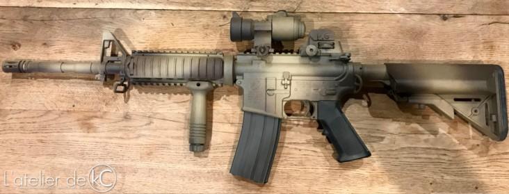 M4 gbbr GHK colt custom seal 2000 mk12-3