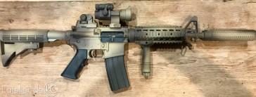 M4 gbbr GHK colt custom seal 2000 mk12-4