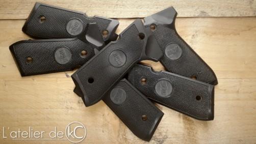 Plaquettes PAMAS airsoft custom beretta grips gbb KJ Works ASG-1
