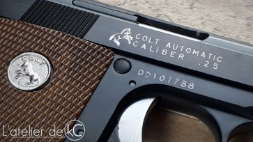WE colt 25 gbb custom engraving full markings3