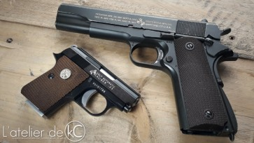 We Colt Junior 25 and tercel colt 1911a1 gbb airsoft1