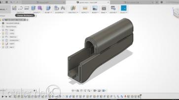 AK47 CAD handguard fusion360-1