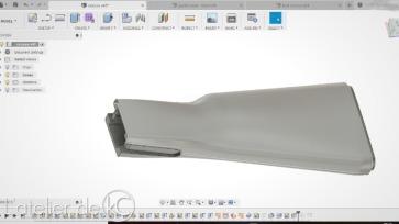 AK47 CAD stock fusion360-1