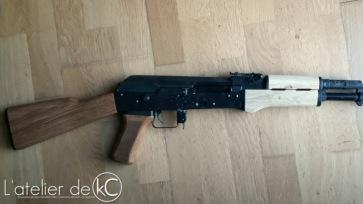 AK47 custom handguard milling10