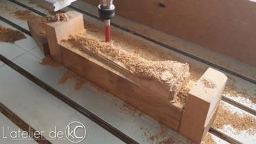 AK47 custom handguard milling4