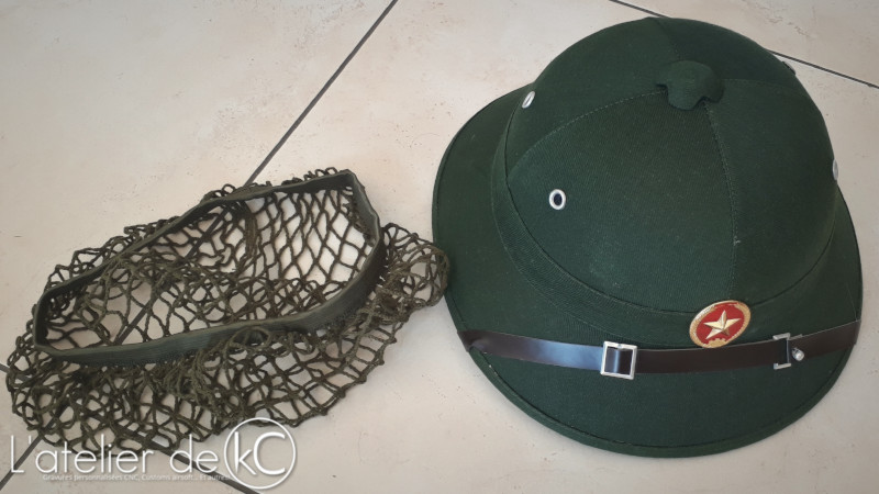 Ebay Pith Helmet with star and net1