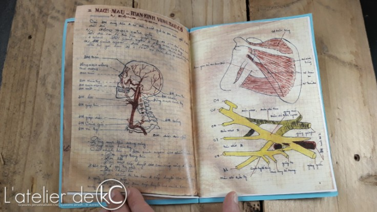 DIY home made medic notes PANV NVA VIETCONG
