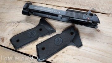 PAMAS G1S airsoft gbb conversion slide KJworks1
