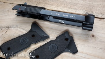 PAMAS G1S airsoft gbb conversion slide KJworks2