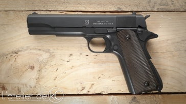Army Armament M1911 A1 US&S custom WW2 engraving-1