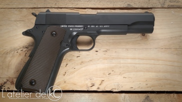 Army Armament M1911 A1 US&S custom WW2 engraving-2