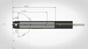 KJ MK1 3D model upper CAD Drawing1