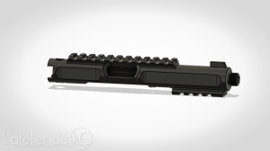KJ MK1 3D model upper CAD Drawing2
