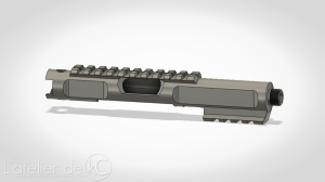KJ MK1 3D model upper prototype1