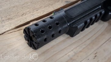 KJ MK1 3D printed full upper 6