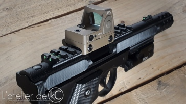 KJ MK1 3D printed upper fiber sight closeup 1