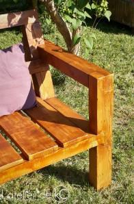 Canapé palette jardin recup DIY bois sofa bench wood pallet garden 1
