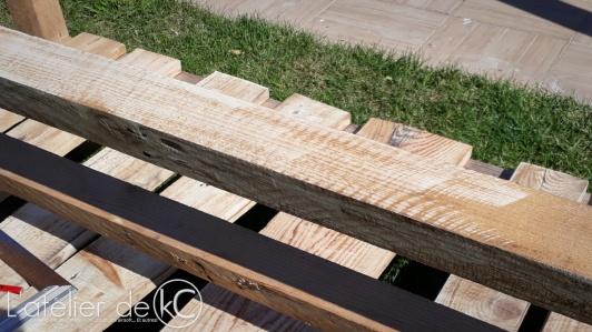 Canapé palette jardin recup DIY bois5