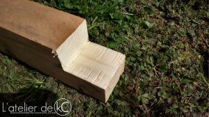 palette scie onglet radiale DIY bricolage canapé jardin assemblage mi bois3