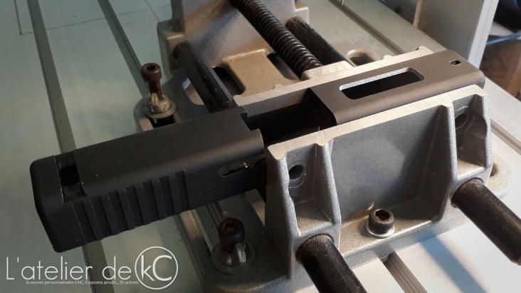 PGC glock 19 slide custom machining KSC1