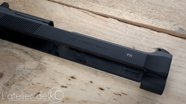WE M9 gbb Beretta USA custom engraved 1