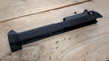 WE M9 gbb Beretta USA custom engraved 3
