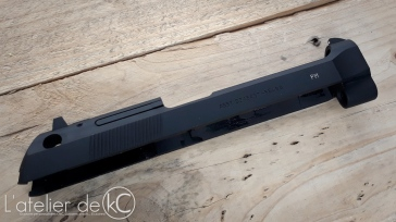 WE M9 gbb Beretta USA custom engraved 4