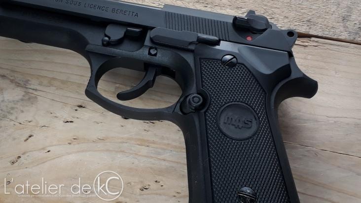 SRC SR92 PAMAS Custom engraving3