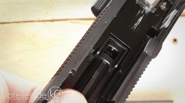 SRC SR92 review nozzle detail 1